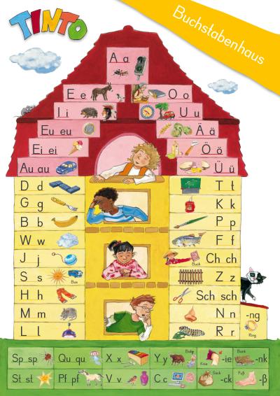 Das Buchstabenhaus: Mit TINTO Lesen lernen durch Schreiben